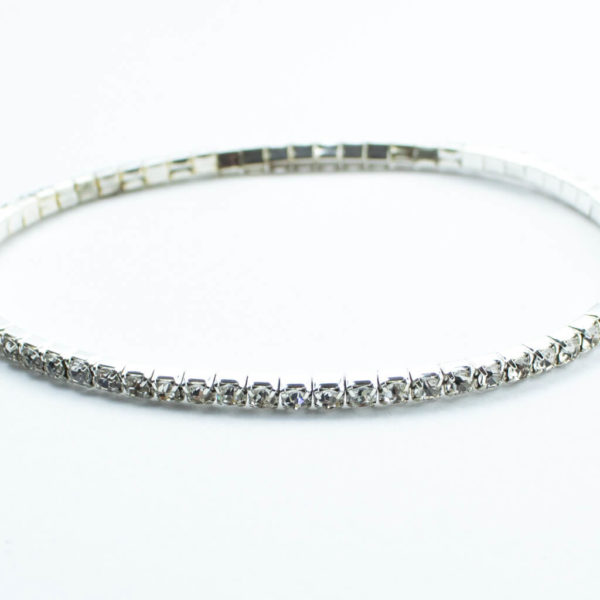 Silver AD anklet